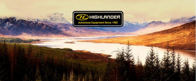 Stort udvalg af udstyr fra skotsk Highlander