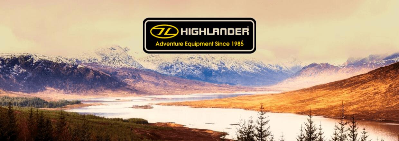 Stort udvalg af udstyr fra skotsk Highlander<br>