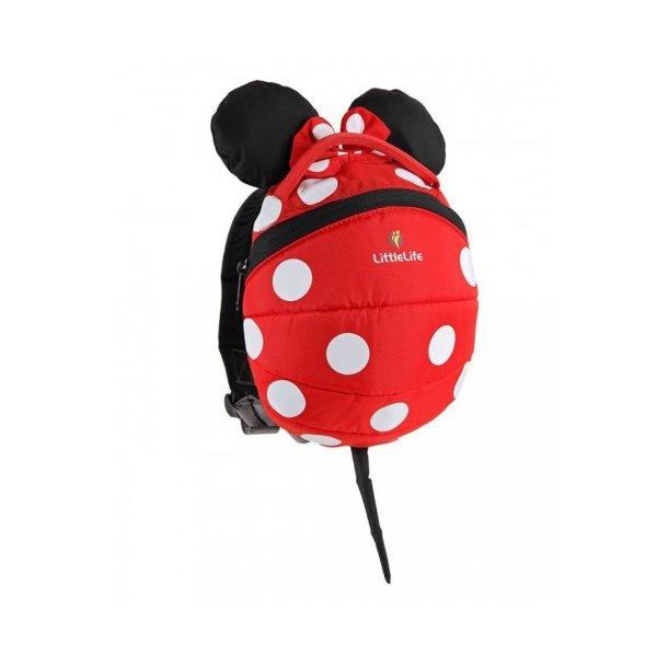 LittleLife Rygsæk Minnie Mouse Mini Rød (1-3 år)
