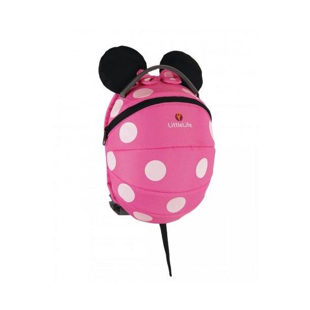 LittleLife Rygsæk Minnie Mouse Mini Pink (1-3 år)