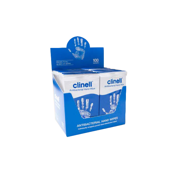 Clinell Antimicrobial Hand Wipes - Håndserviet Anitbakteriel
